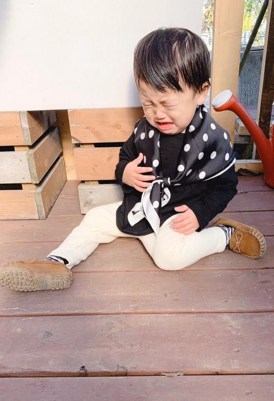 Dot scarf(kids.girl.boy.mama)