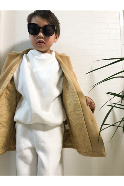 Spring wool coat(kids)