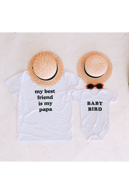 Graphic rompers(baby)
