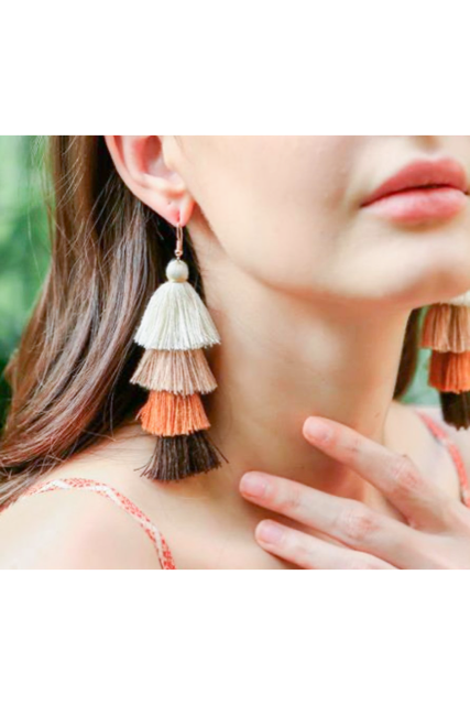 Fringe pierce(mama)【限定価格】
