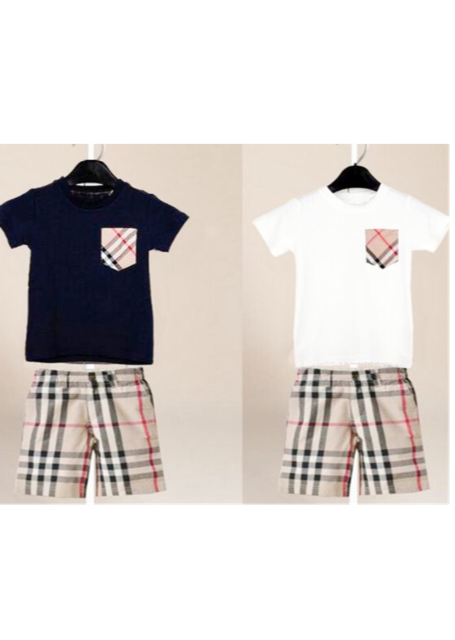 trend check柄セット(kids)【限定】