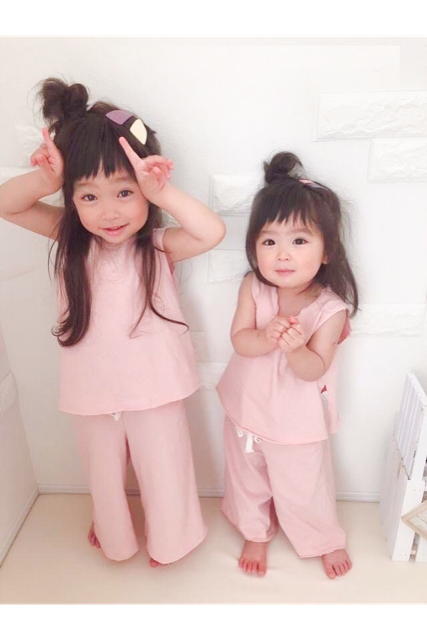 Wide pants set up(kids.mama)