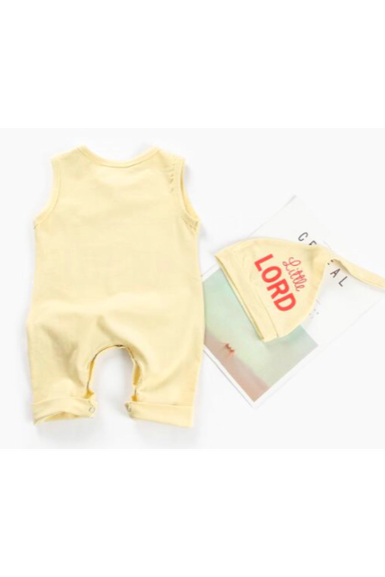 Baby logo rompers(baby)【特別価格】