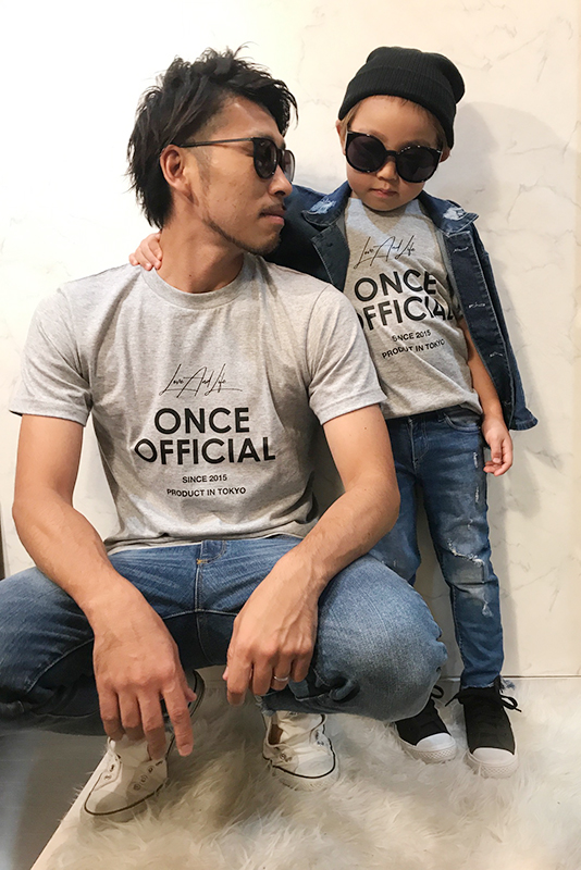 ONCE OFFICAL ペアセット(baby.kids.adalt)