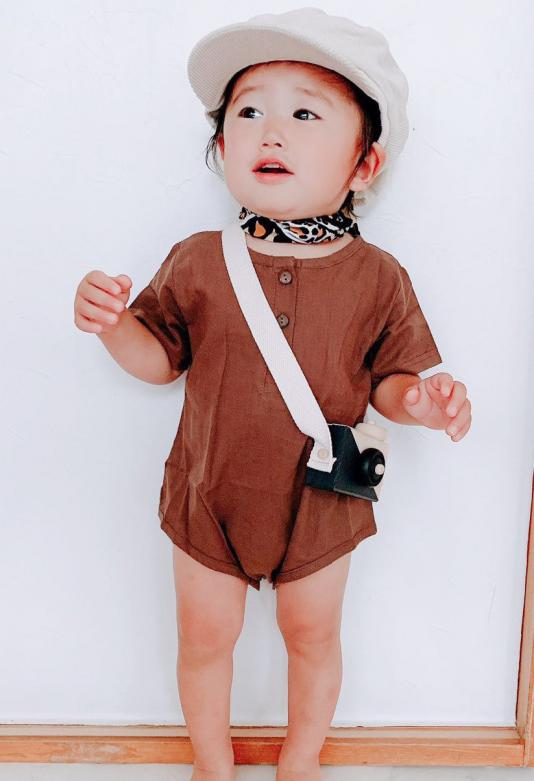 Casual rompers(baby.kids)