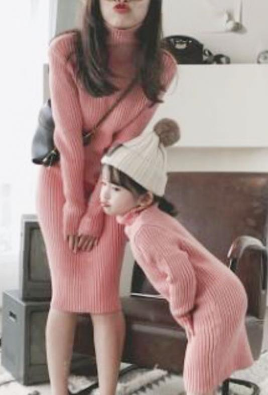Turtle knit onepiece(kids.mama)