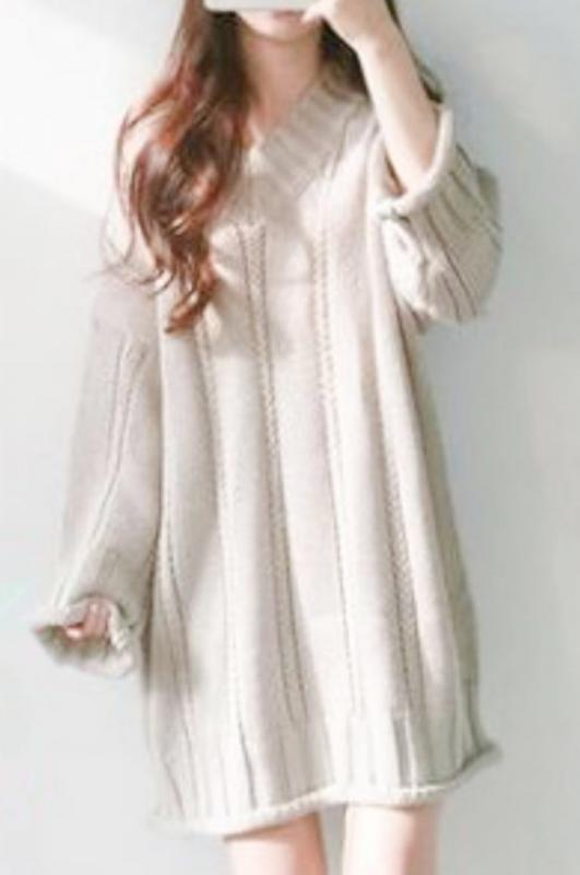Over size knit(mama)