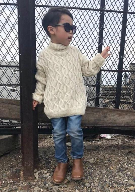 turtleゆるknit(kids)