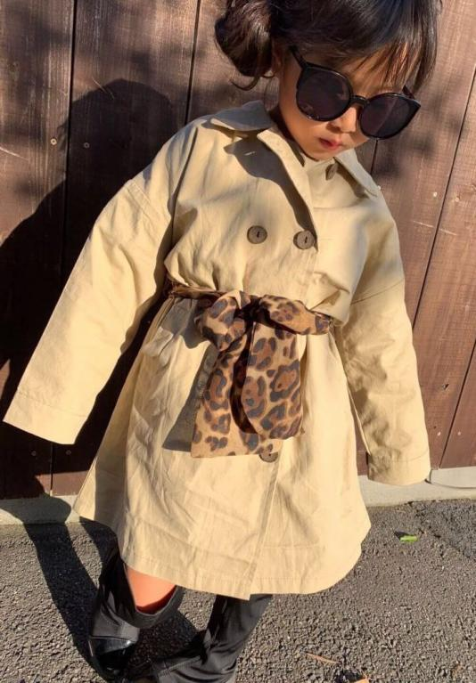 AWtrench coat(kids)