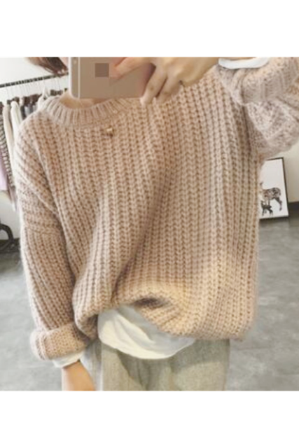 Over knit tops(mama)【限定価格】