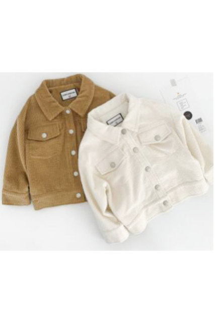 Corduroy jacket(kids)【限定価格】
